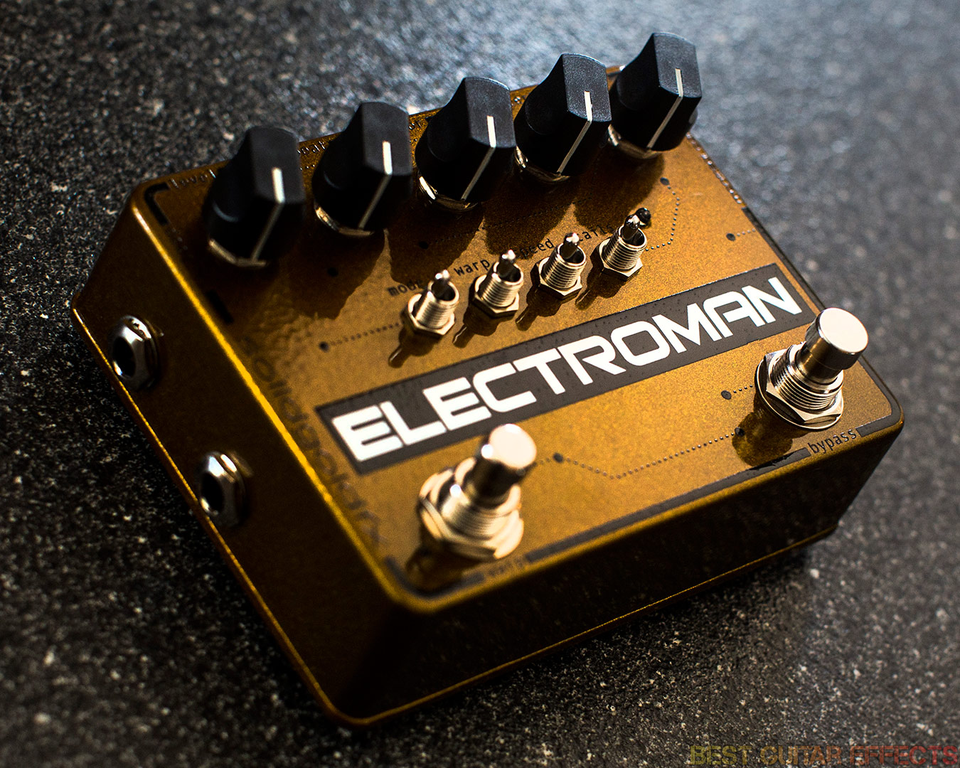 Top 20 Best Delay Pedals Of 2018 Gibson Guitar Board Updating The Electronics With A Pcb Do I Clip Builder Solidgoldfx Pedal Electroman Mkii Type Modulated Digital