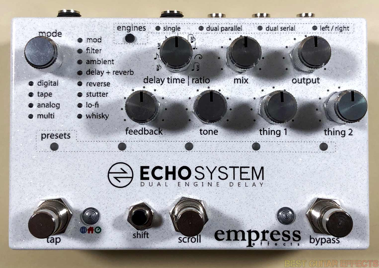Top Best Guitar Effects Pedals References Electronics Com Kill Switch Output Mute Empress Echosystem