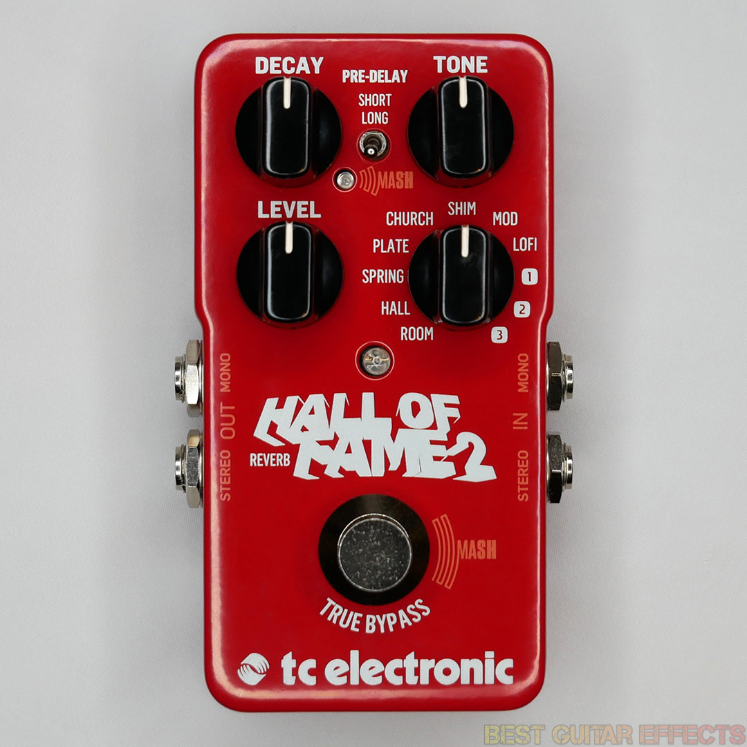 Best New Guitar Effects Pedals Of 2017 Circuits Gt Boss Dd 2 Digital Delay Pedal Schematic Diagram Builder Tc Electronic Hall Fame Effect Type Reverb