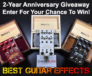Monthly Guitar Gear Giveaway