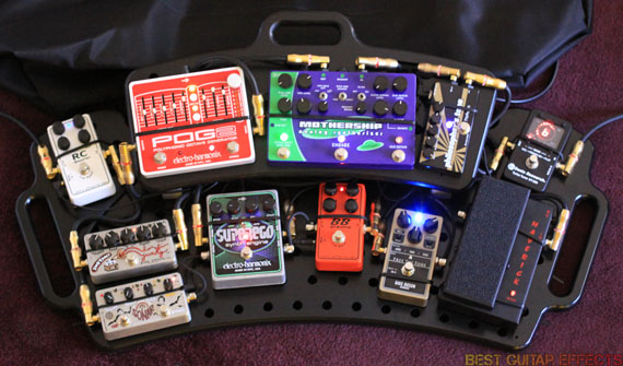 how to build a pedal board for 2 guitars