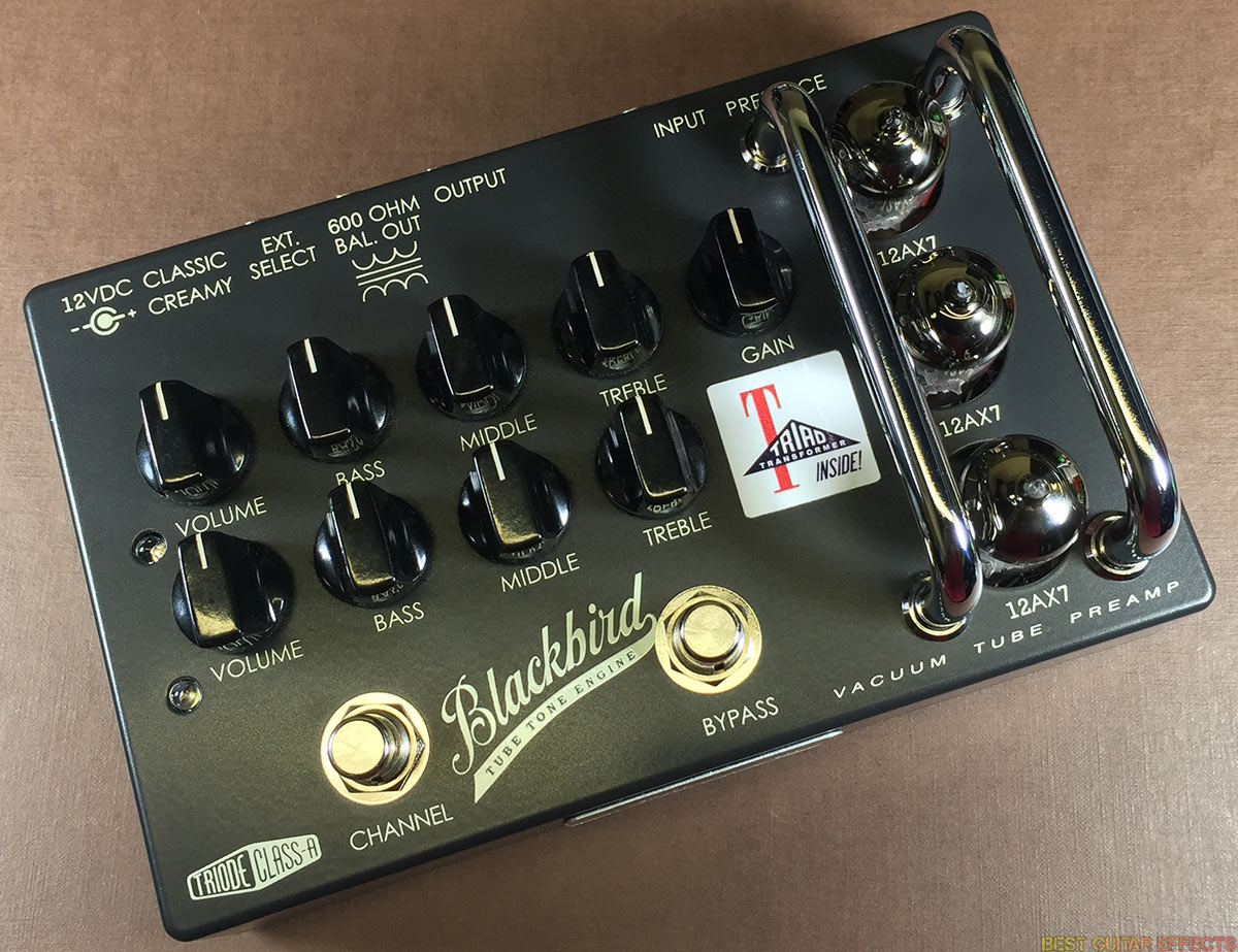 Effectrode Blackbird Sr 71 Review Best Pre Amp Pedal Classic Tone Control Circuit With Low Noise Transistor