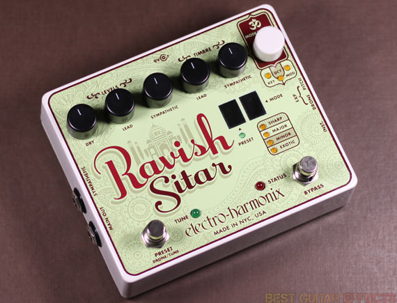 Electro-Harmonix-Ravish-Sitar-Review-Best-Guitar-Synth-Pedal-01