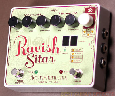 Electro-Harmonix-Ravish-Sitar-Review-Best-Guitar-Synth-Pedal-03