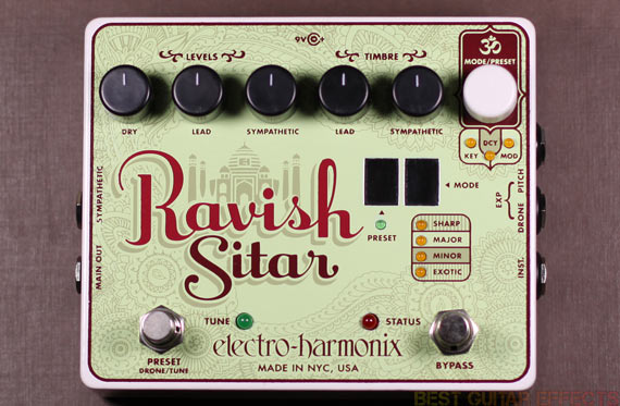 Electro-Harmonix-Ravish-Sitar-Review-Best-Guitar-Synth-Pedal-04