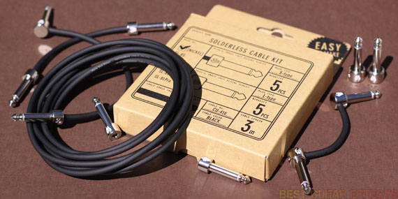 Best Pedal Cables : Free the tone solderless cable kit review best guitar