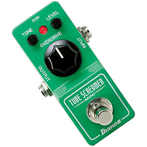 Ibanez Tube Screamer Mini Review – Best Mini Overdrive Pedal?