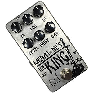 "Menatone's The King  Review – Best ""Marshall"" Distortion Pedal?"