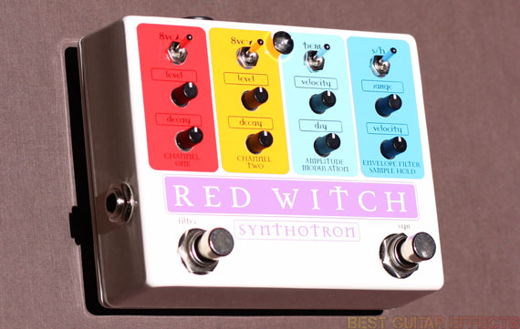 Guitar Synth Pedal >> Red Witch Synthotron Review Best Analog Guitar Synth Pedal