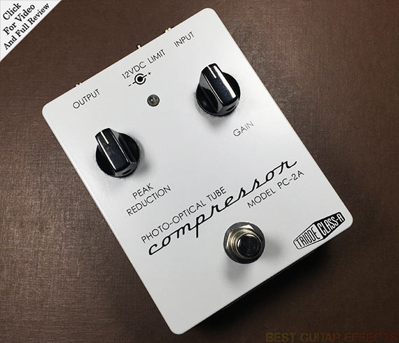 Top 15 Best Guitar Compressor Pedals of 2016